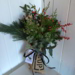 Hand Crafted Local Christmas Flower Arrangements
