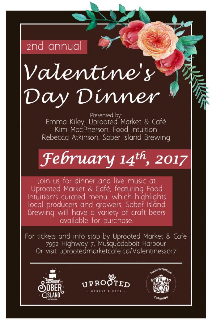 Uprooted Valentines Day Dinner 2017 Poster